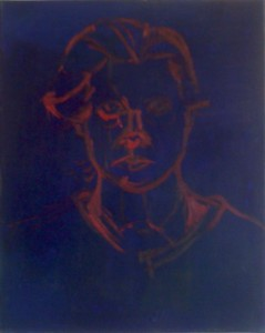 Self Portrait - Oil on Canvas - 2008 - 20 x 16 inches